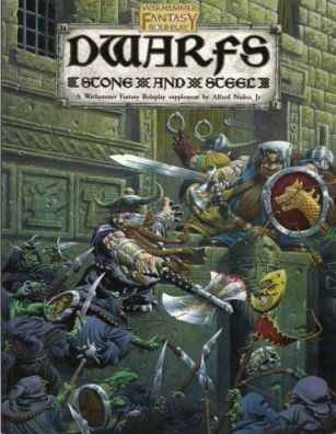 [Cover of Dwarfs Stone and Steel book]