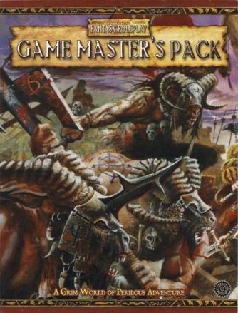 [Cover of Gamemaster's Pack booklet]