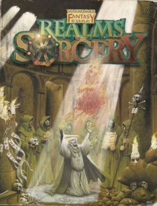 [Cover of Realms of Sorcery book]
